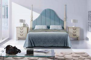 Dormitorio Vintage Elegan A Dormitorio Vintage con Cabecero tapizado. Muebles Díaz