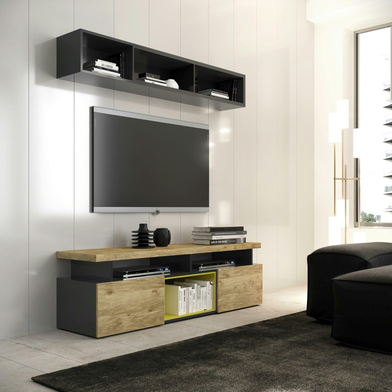 Mesa tv modelo chan muebles d azmuebles d az for Mesas de televisor modernas
