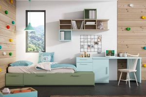 Dormitorio Juvenil Petsa G Dormitorio Juvenil con Muebles Modulares y Cama Nido. Muebles Díaz