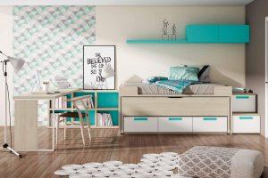 Dormitorio Juvenil Petsa J Dormitorio Juvenil Muy Completa con Escalera Cajones. Muebles Díaz