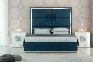 Dormitorio Calahonda Muebles de Dormitorio con Greca Tapizado Muebles Díaz
