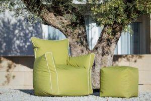 Puf-Sillón Star Puf con forma de sillón Muebles Díaz