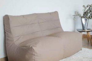Puf-Sillón Merlín Puf con forma de sillón Muebles Díaz