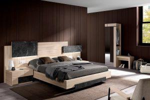 Dormitorio Calgary Dormitorio de matrimonio moderno Muebles Díaz