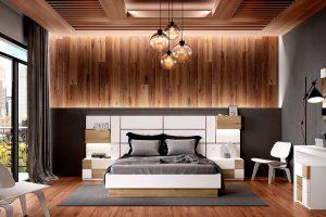 Dormitorio Banf Dormitorio de matrimonio moderno Muebles Díaz